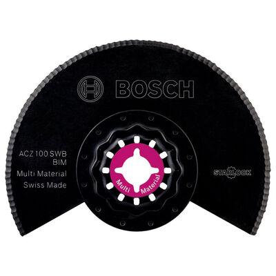 Bosch Starlock - ACZ 100 SWB - BIM Oluklu Segman Testere Bıçağı 1'li