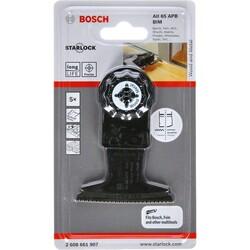 Bosch Starlock - AII 65 APB - BIM Ahşap ve Metal İçin Daldırmalı Testere Bıçağı 5'li - Thumbnail