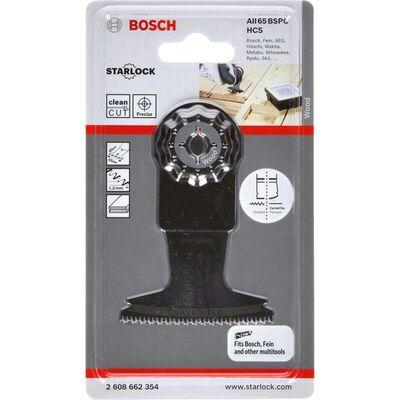 Bosch Starlock - AII 65 BSPC - HCS Sert Ahşap İçin Daldırmalı Testere Bıçağı 1'li BOSCH