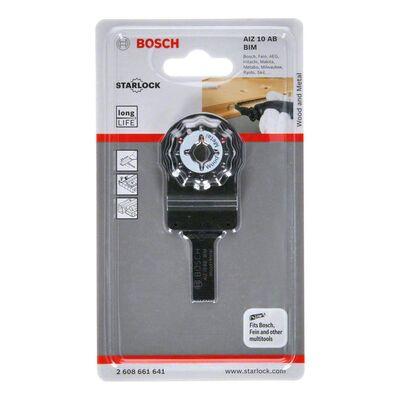Bosch Starlock - AIZ 10 AB - BIM Ahşap ve Metal İçin Daldırmalı Testere Bıçağı 1'li BOSCH