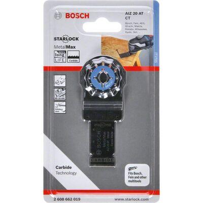 Bosch Starlock - AIZ 20 AT - Karpit Metal İçin Daldırmalı Testere Bıçağı 1'li BOSCH