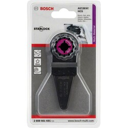 Bosch Starlock - AIZ 28 SC - HCS Universal Derz ve Macun Kesici Bıçak 1'li - Thumbnail