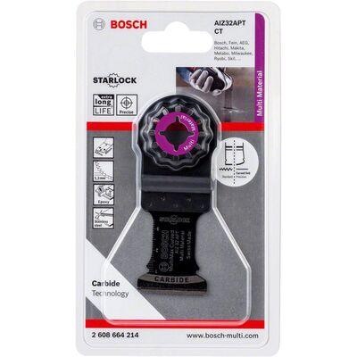 Bosch Starlock - AIZ 32 APT - Karpit Çoklu Malzeme İçin Daldırmalı Testere Bıçağı 1'li BOSCH