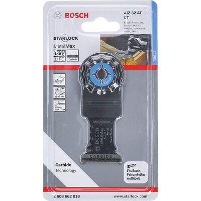 Bosch Starlock - AIZ 32 AT - Karpit Metal İçin Daldırmalı Testere Bıçağı 1'li BOSCH