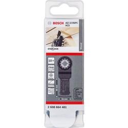 Bosch Starlock - AIZ 32 BSPC - HCS Sert Ahşap İçin Daldırmalı Testere Bıçağı 10'lu - Thumbnail