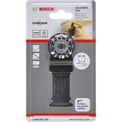 Bosch Starlock - AIZ 32 BSPC - HCS Sert Ahşap İçin Daldırmalı Testere Bıçağı 1'li - Thumbnail