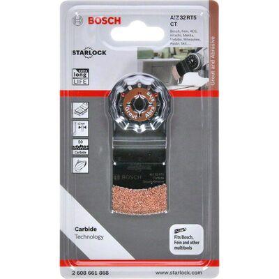 Bosch Starlock - AIZ 32 RT5 - Karpit RIFF Daldırmalı Testere Bıçağı 50 Kum Kalınlığı 1'li BOSCH