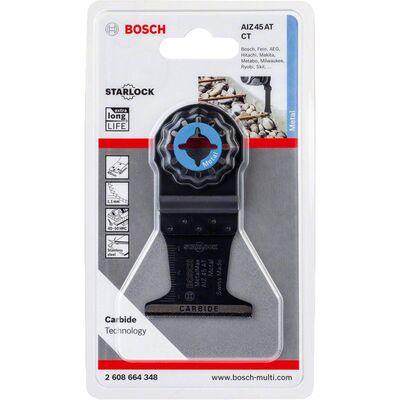 Bosch Starlock - AIZ 45 AT - Karpit Metal İçin Daldırmalı Testere Bıçağı 1'li BOSCH