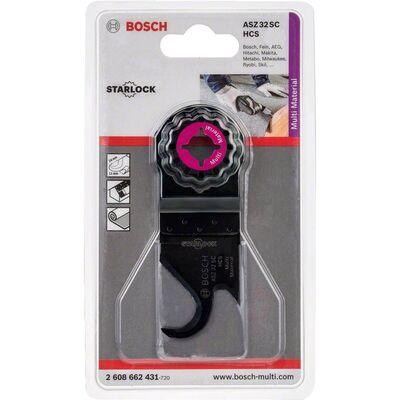 Bosch Starlock - ASZ 32 SC - HCS Çok Amaçlı Yumuşak Malzemelerde Kesim İçin Testere Bıçağı 1'li BOSCH