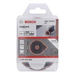 Bosch Starlock - AVZ 70 RT4 - Karpit RIFF Fayans Arası Derz Harcı Çıkarıcı Testere Bıçağı 10'lu - Thumbnail