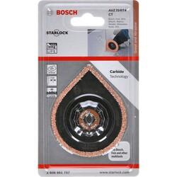 Bosch Starlock - AVZ 70 RT4 - Karpit RIFF Fayans Arası Derz Harcı Çıkarıcı Testere Bıçağı 1'li - Thumbnail