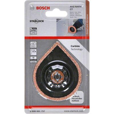 Bosch Starlock - AVZ 70 RT4 - Karpit RIFF Fayans Arası Derz Harcı Çıkarıcı Testere Bıçağı 1'li BOSCH