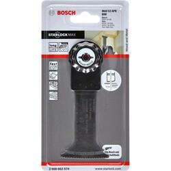 Bosch Starlock Max - MAII 52 APB - BIM Ahşap ve Metal İçin Daldırmalı Testere Bıçağı 1'li - Thumbnail
