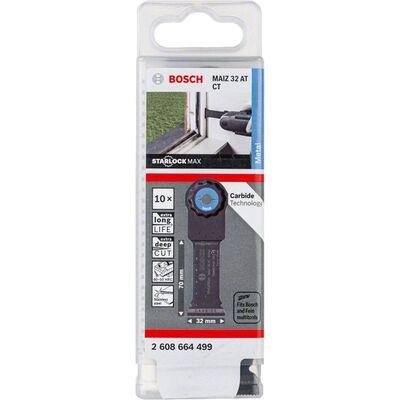 Bosch Starlock Max - MAIZ 32 AT - Karpit Metal İçin Daldırmalı Testere Bıçağı 10'lu BOSCH