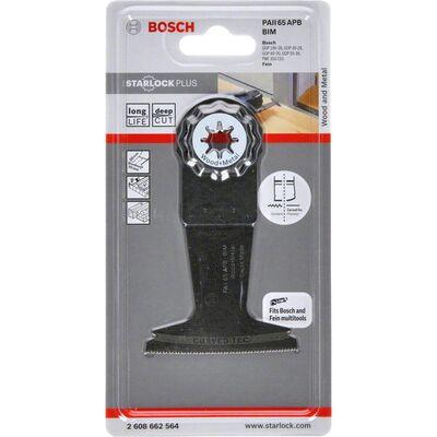 Bosch Starlock Plus - PAII 65 APB - BIM Ahşap ve Metal İçin Daldırmalı Testere Bıçağı 1'li BOSCH