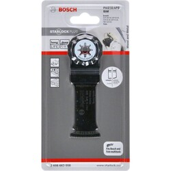 Bosch Starlock Plus - PAIZ 32 APB - BIM Ahşap ve Metal İçin Daldırmalı Testere Bıçağı 1'li - Thumbnail