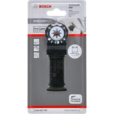 Bosch Starlock Plus - PAIZ 32 APB - BIM Ahşap ve Metal İçin Daldırmalı Testere Bıçağı 1'li BOSCH