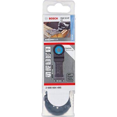 Bosch Starlock Plus - PAIZ 32 AT - Karpit Metal İçin Daldırmalı Testere Bıçağı 10'lu BOSCH