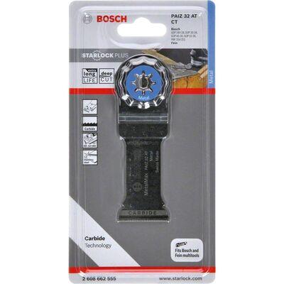Bosch Starlock Plus - PAIZ 32 AT - Karpit Metal İçin Daldırmalı Testere Bıçağı 1'li BOSCH