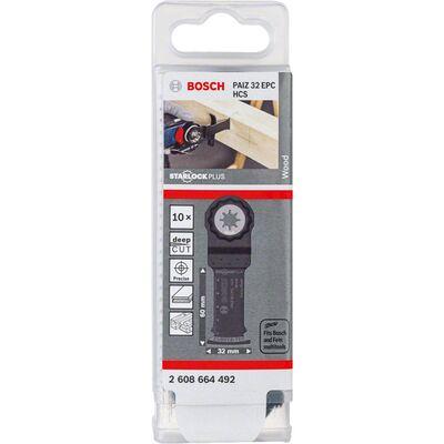 Bosch Starlock Plus - PAIZ 32 EPC - HCS Ahşap İçin Daldırmalı Testere Bıçağı 10'lu BOSCH