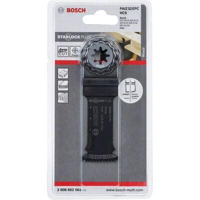 Bosch Starlock Plus - PAIZ 32 EPC - HCS Ahşap İçin Daldırmalı Testere Bıçağı 1'li BOSCH