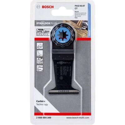 Bosch Starlock Plus - PAIZ 45 AT - Karpit Metal İçin Daldırmalı Testere Bıçağı 1'li BOSCH