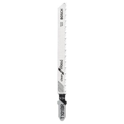Bosch Temiz Kesim Serisi Ahşap İçin T 101 BR Dekupaj Testeresi Bıçağı - 5'Li Paket