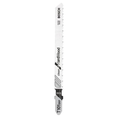 Bosch Temiz Kesim Serisi Sert Ahşap İçin T 101 BRF Dekupaj Testeresi Bıçağı - 25'Li Paket