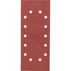 Bosch Titreşimli Zımpara Kağıdı 10'lu, 115 x 280 mm 120 Kum 14 Delik - Thumbnail