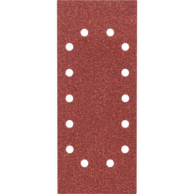 Bosch Titreşimli Zımpara Kağıdı 10'lu, 115 x 280 mm 60 Kum 14 Delik