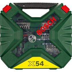 Bosch X-Line 54 Parça Cırcır El Tornavidalı Karışık Aksesuar Seti - Thumbnail