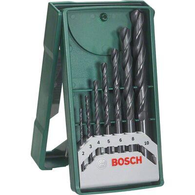 Bosch X-Line Mini 7 Parça Metal Matkap Ucu Seti