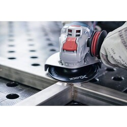 Bosch X-LOCK - 115 mm Fiber Disk Orta Sertlikte Taban - Thumbnail