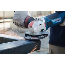 Bosch X-LOCK - 115*6,0 mm Expert Serisi Bombeli Metal Taşlama Diski (Taş) - Thumbnail