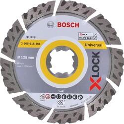 Bosch X-LOCK - Best Serisi Genel Yapı Malzemeleri ve Metal İçin Elmas Kesme Diski 125 mm - Thumbnail