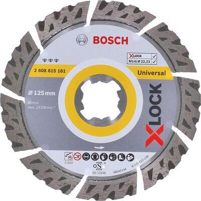 Bosch X-LOCK - Best Serisi Genel Yapı Malzemeleri ve Metal İçin Elmas Kesme Diski 125 mm