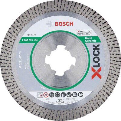 Bosch X-LOCK - Best Serisi Sert Seramikler İçin Elmas Kesme Diski 115 mm