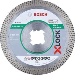 Bosch X-LOCK - Best Serisi Sert Seramikler İçin Elmas Kesme Diski 125 mm - Thumbnail