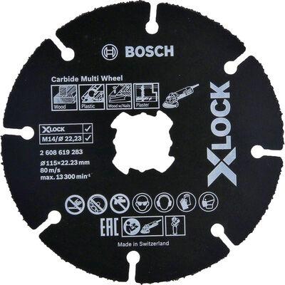 Bosch X-LOCK - Carbide Multi Wheel 115 mm 10'lu BOSCH
