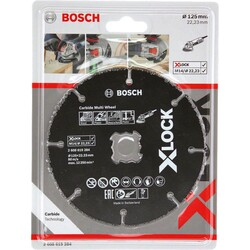 Bosch X-LOCK - Carbide Multi Wheel 125 mm - Thumbnail