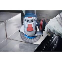 Bosch X-LOCK - Clean Serisi Metal İçin Saçaklı Yuvarlak Fırça 115*0,3 mm - Thumbnail