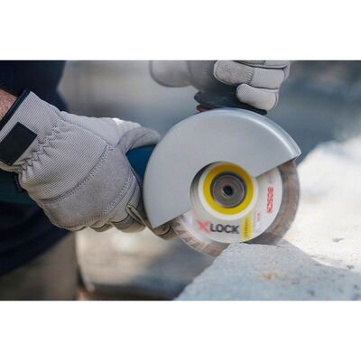 Bosch X-LOCK - Standard Seri Genel Yapı Malzemeleri İçin Elmas Kesme Diski 125 mm BOSCH