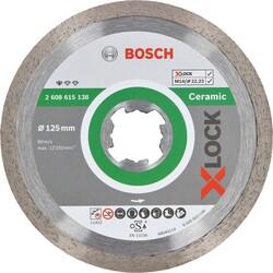 Bosch X-LOCK - Standard Seri Seramik İçin Elmas Kesme Diski 125 mm - Thumbnail