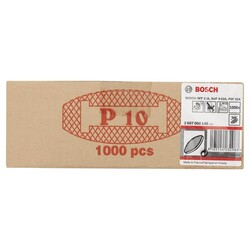Bosch Yassı Dübel GR 10 55*19*4 mm 1000'li - Thumbnail