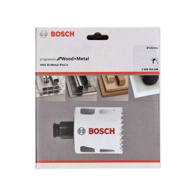 Bosch Yeni Progressor Serisi Ahşap ve Metal için Delik Açma Testeresi (Panç) 152 mm BOSCH