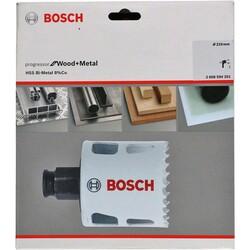 Bosch Yeni Progressor Serisi Ahşap ve Metal için Delik Açma Testeresi (Panç) 210 mm - Thumbnail
