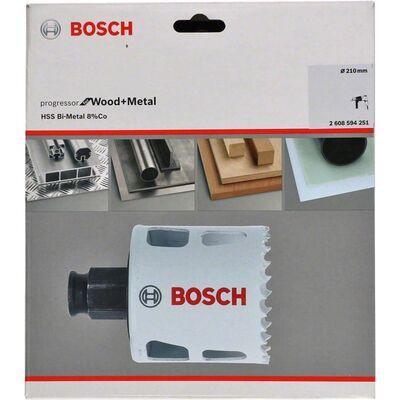 Bosch Yeni Progressor Serisi Ahşap ve Metal için Delik Açma Testeresi (Panç) 210 mm BOSCH