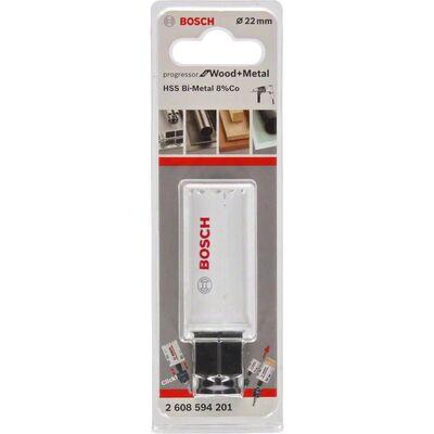 Bosch Yeni Progressor Serisi Ahşap ve Metal için Delik Açma Testeresi (Panç) 22 mm BOSCH