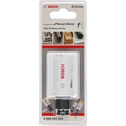 Bosch Yeni Progressor Serisi Ahşap ve Metal için Delik Açma Testeresi (Panç) 25 mm - Thumbnail