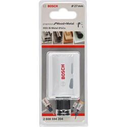 Bosch Yeni Progressor Serisi Ahşap ve Metal için Delik Açma Testeresi (Panç) 27 mm - Thumbnail